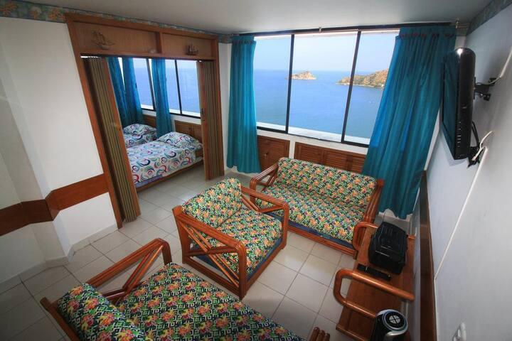 Increíble apartamento vista al mar