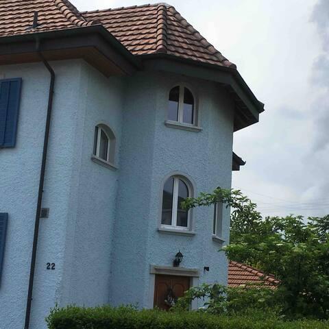 Stilvolle Zimmer in der Villa Bleue -Zimmer Orange