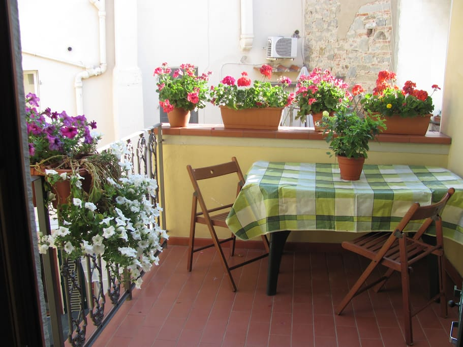 Terrace, great for a nice breakfast or apertivo at night.