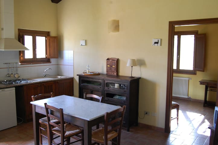 Tiburzi apartment in Tuscany. - Montecatini Val di Cecina - Appartement