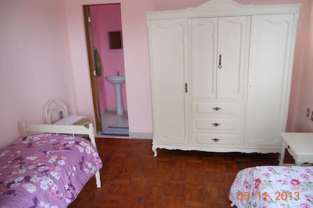 LOCANDA ILHA DAS CORES - Salto de Pirapora - Dormitorio
