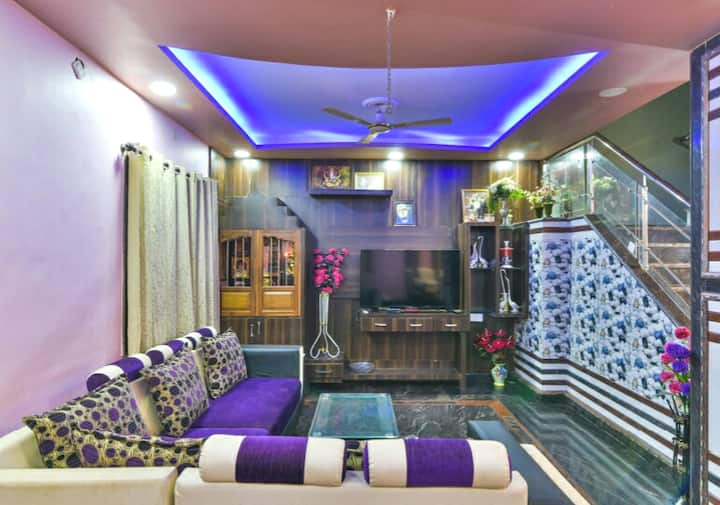 """ Harmonious Riverview 3BHK Villa In Nerul ."""