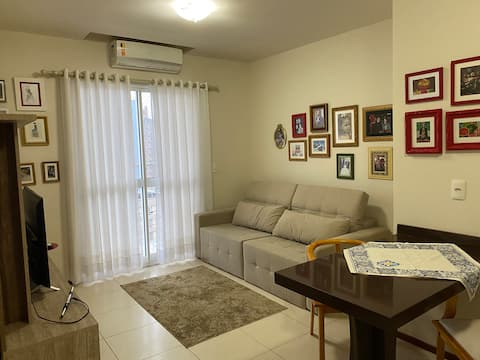 Lindo apartamento para descanso ou trabalho