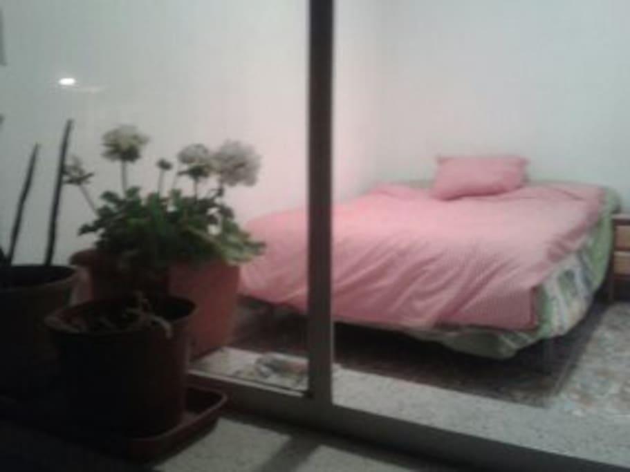 Habitación acogedora en Murcia.