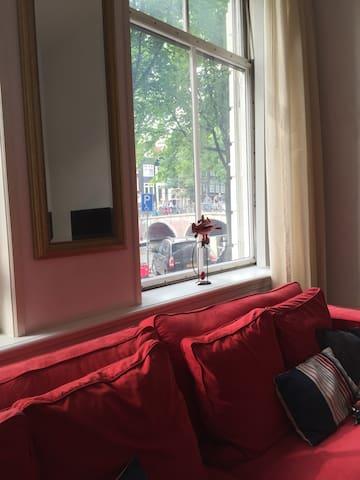 Unique apartment in historical canal house - Amesterdão - Apartamento