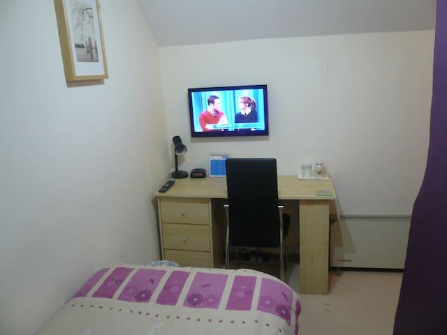 Breakfast,WIFI inc Sgle/Twin room 3 - Hove - Apartment