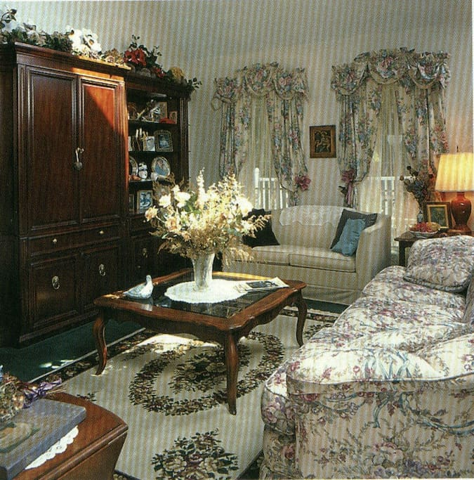 The Living Room of the main house