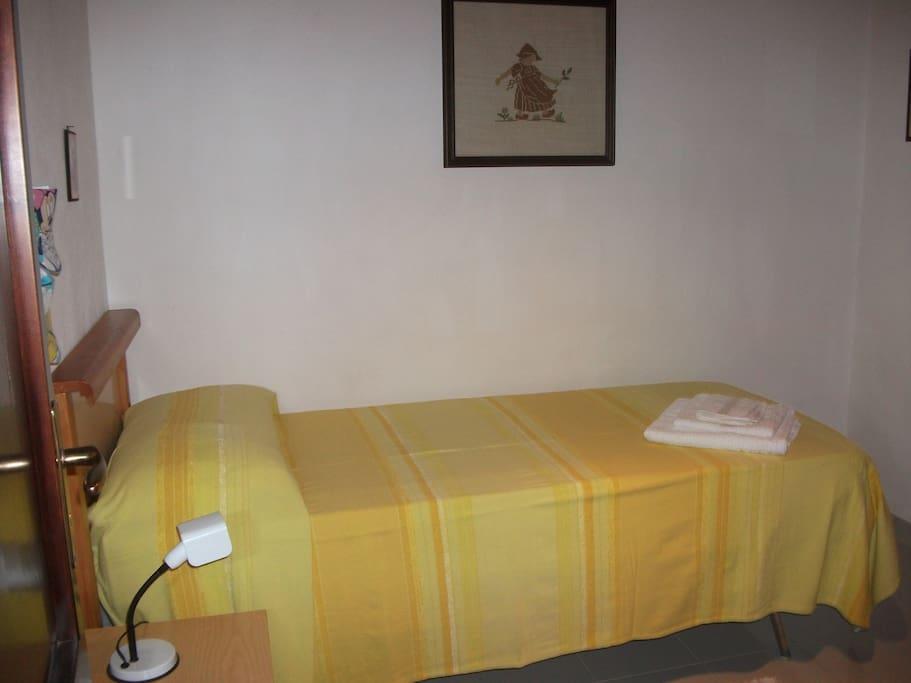camera 1 letto singolo