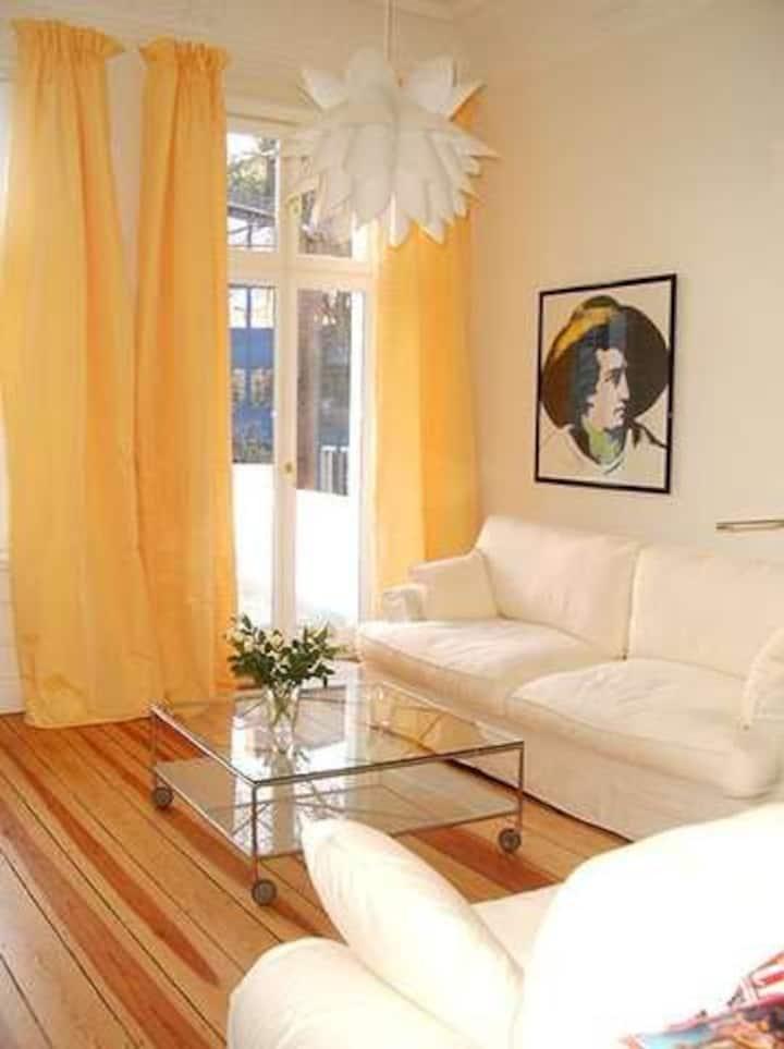 Nice accommodation: Chestnut Suite