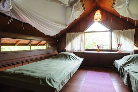 Attic with view+bike in North Sanur - Denpasar