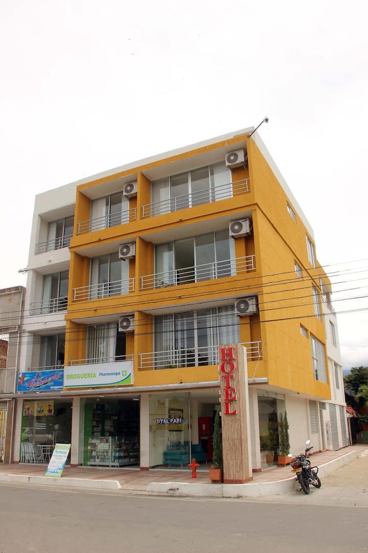 Alojamiento con vista en Venadillo