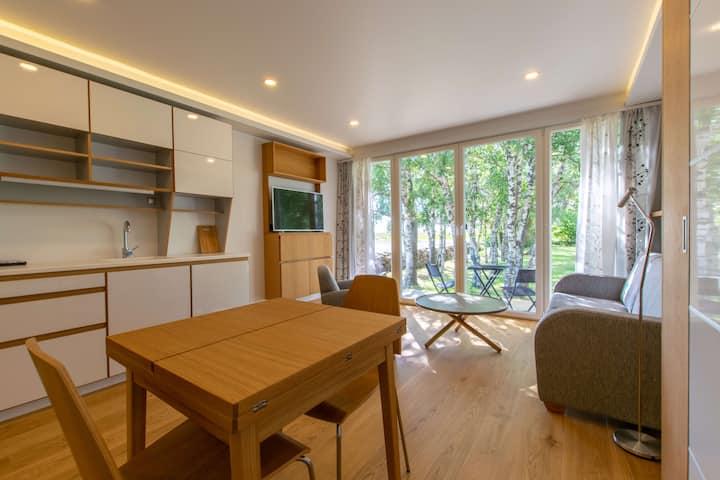 ★Modern Sea/Garden View Apartment | BBQ & Terrace