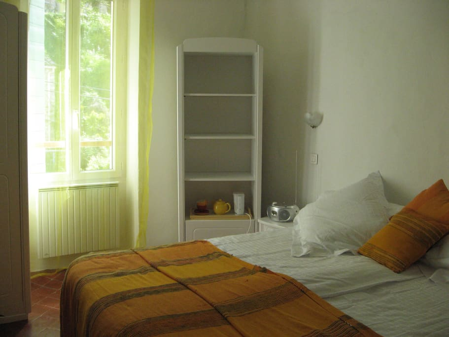 Bedroom as double bed