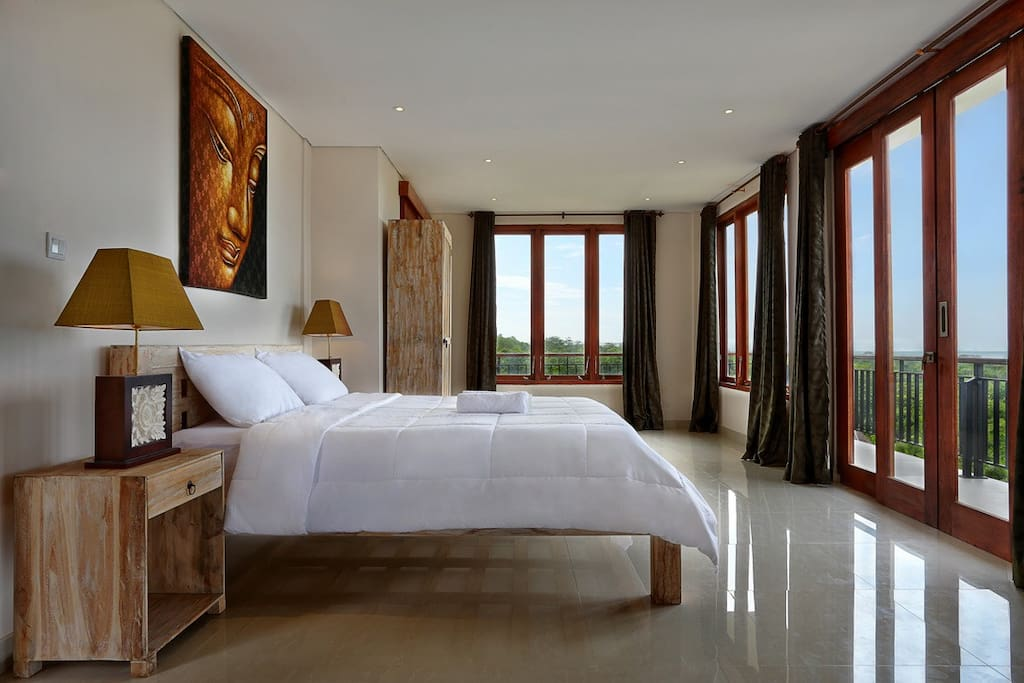3rd story honeymoon suite with private balcony and ocean views