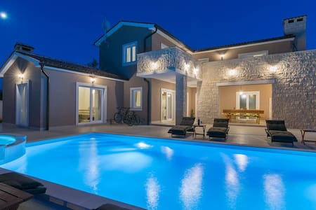 Villa Medaki near Rovinj with pool and sauna - Medaki - 別荘