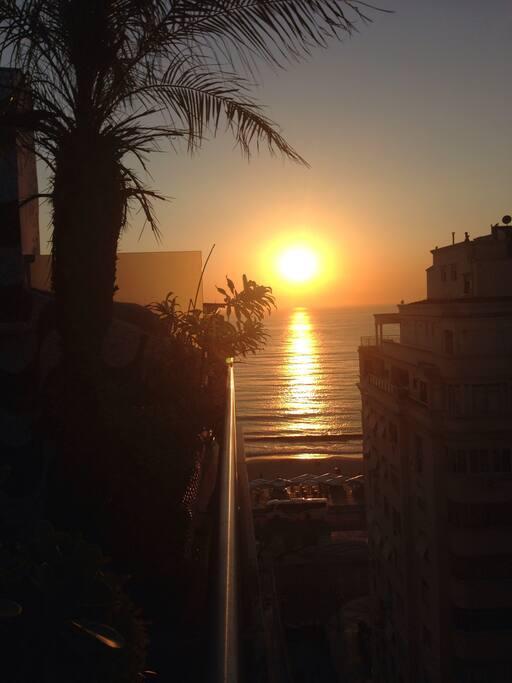 Sunrises on Rio.