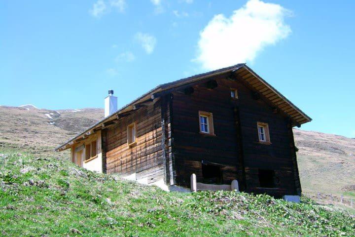 Maiensäss Litzihütta, Camaner Alp - Safien - Chalet