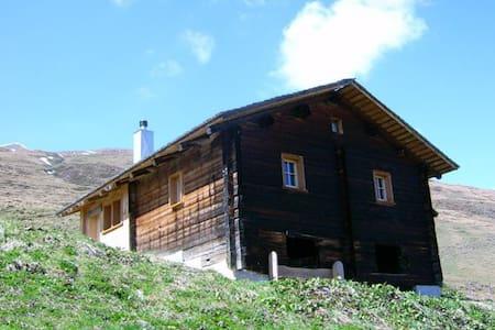 Maiensäss Litzihütta, Camaner Alp - Safien - Alpehytte