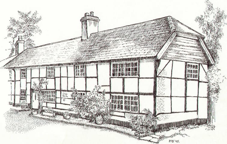 Old Smithy, Damerham - Hampshire - House