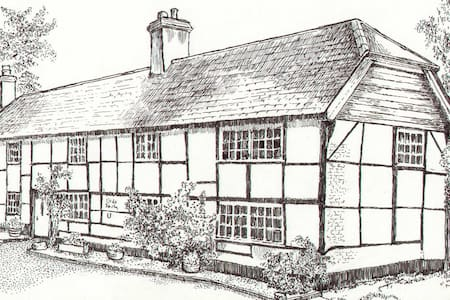 Old Smithy, Damerham - Hampshire - Hus