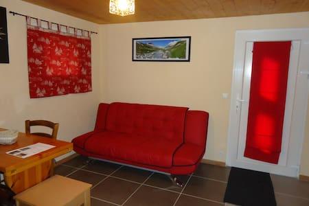 Studio individ 2 pers  dans maison  - Saint-Martin-d'Arc - Apartament