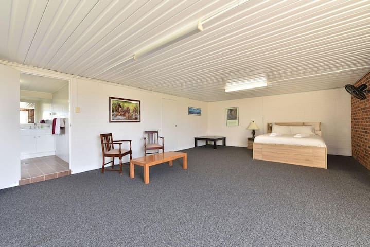 Noble Willow Studio Lovedale. Spacious, with views and pool