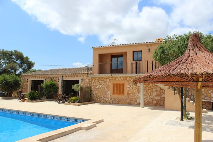 Indipendent cottage 3 pool Es Trenc area - Campos - Ev