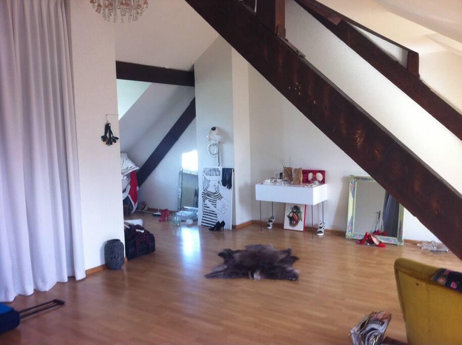 the loft main space