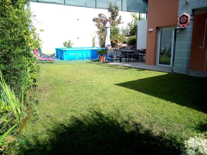 Moderne & ruhe Villa, ohne Vis-à-vis, Nähe Meer