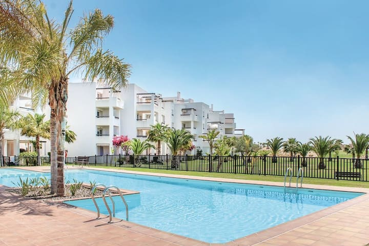 Appartement pittoresque à Roldán avec piscine et terrasse