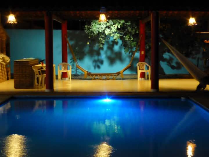 Take a Romantic Midnight Swim(1)!