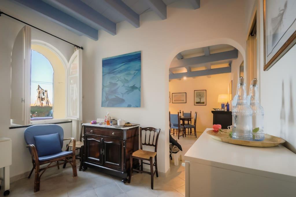 Alguerhome Blue Fish House Sea View Apartments For Rent In Alghero Sardegna Italy