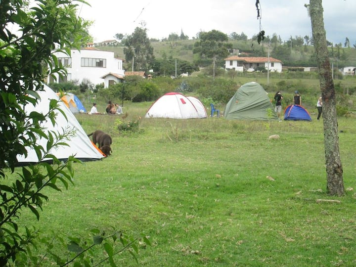 PRADOS ZONA DE CAMPING