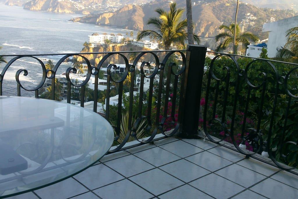 Vista desde la terraza de la sala