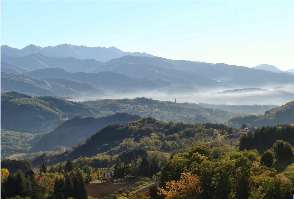 The Garfagnana valley