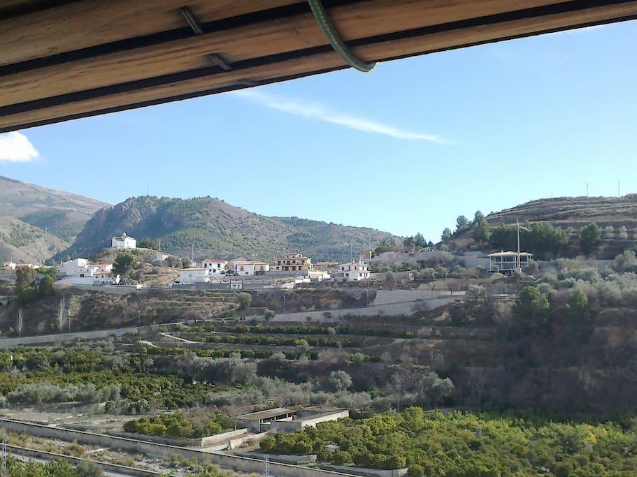 Vista a Talará