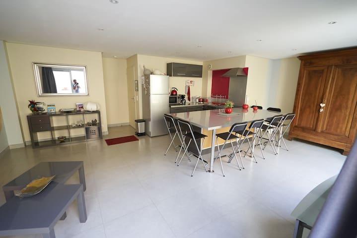 Gîte cosy & moderne proche Pont du Gard Remoulins - Remoulins - Lägenhet