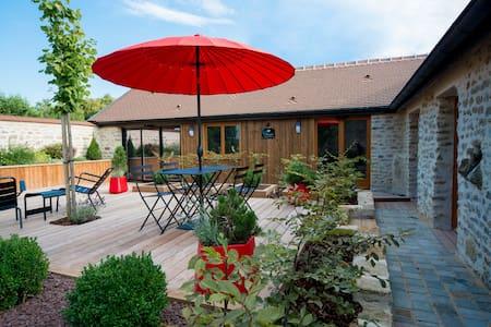 Chambres d'hôtes, gîte en Bourgogne - Jouey - Rumah