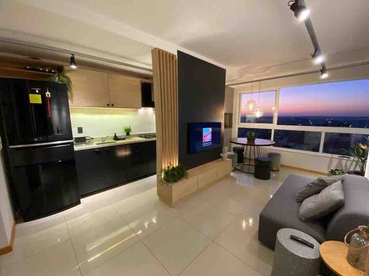 Apartamento vista panorâmica
