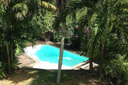 Room in a beautiful peaceful villa - Le Gosier