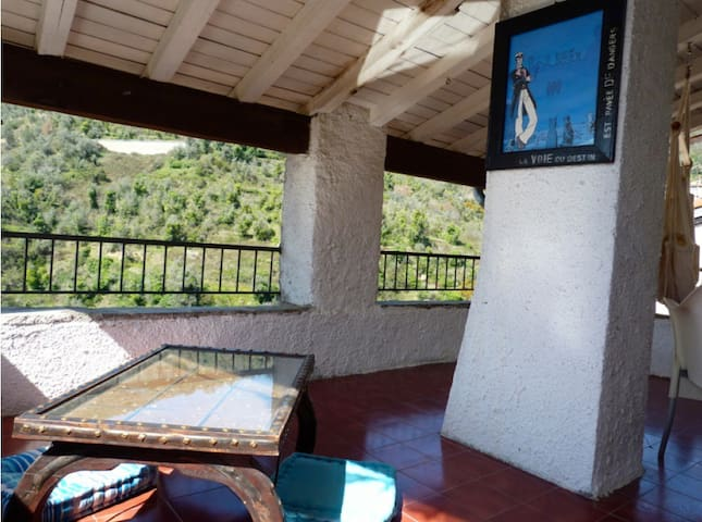 Charming house, pretty roof terrace - Apricale
