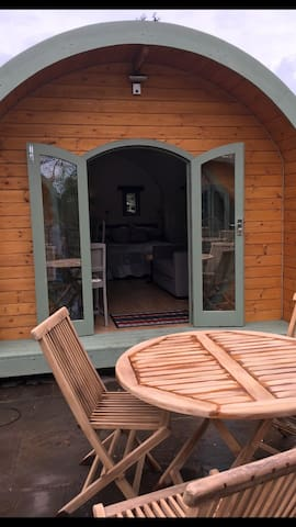 Snoozy Owl Luxury heated Pod + kitchen & ensuite - Ilkley  - Cabaña