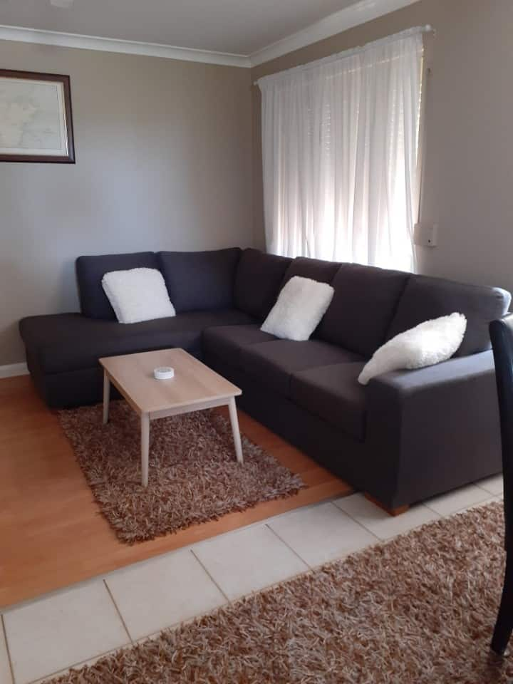 Relax in comfortable roomy unit