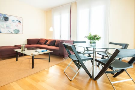 Cozy and bright duplex, AC, garage wifi unlimited - Madrid