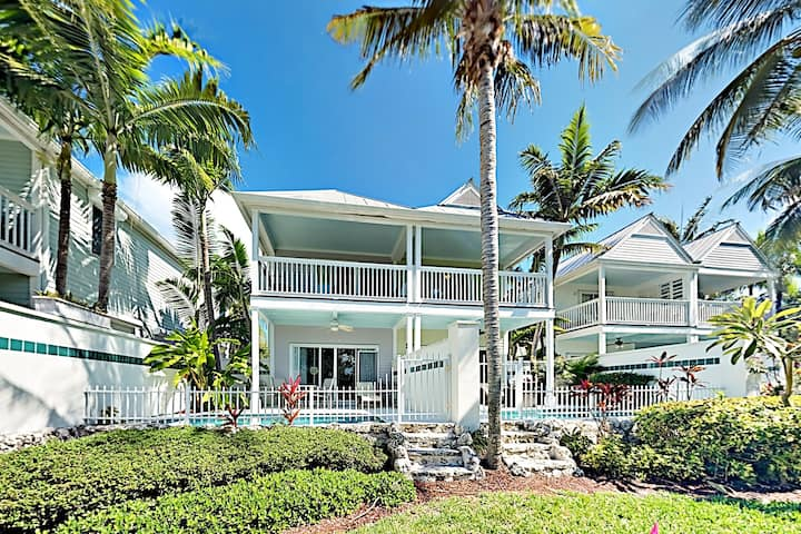 Duck Key Waterfront Villa with Private Pool