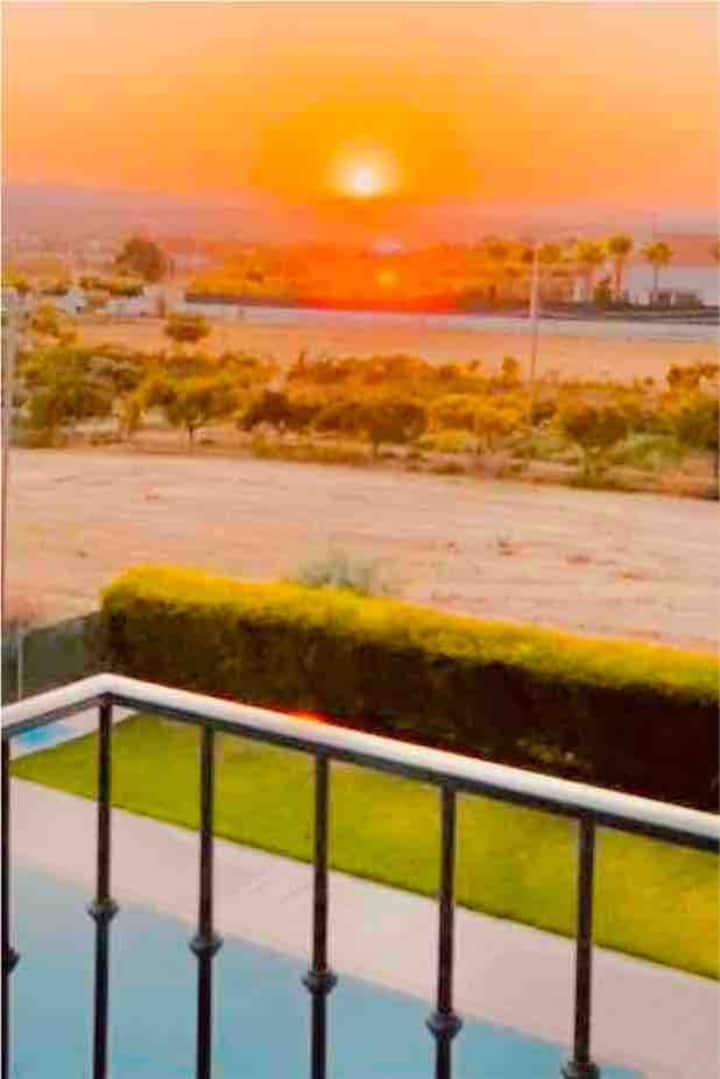 Enjoy , relax on quiet place with sunrise view