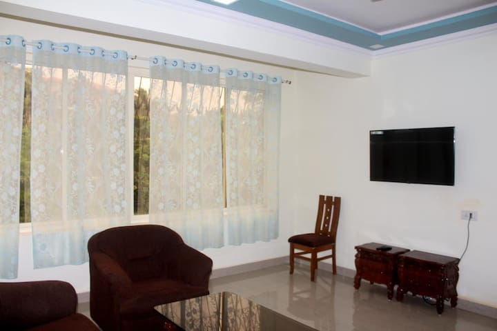 Cosy 1BHK Holiday Home Next to Hilton Goa Resort