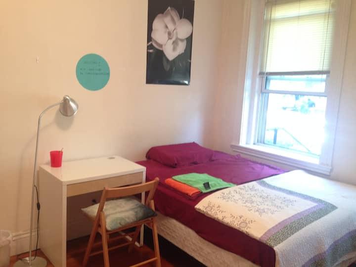 Sunny Bedroom at Harvard