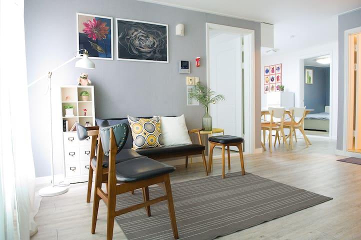 New Opening Sale - Best Location @ Hongdae / 3 bedrooms / 2 Bathrooms