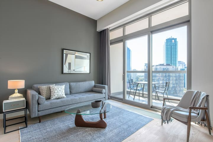 Smart 1BR at 42 Maslak with Pool & City View